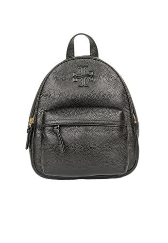 TORY BURCH black Tory Burch Thea Mini Leather Backpack 78711 Black ADABFACD923A9BGS_1