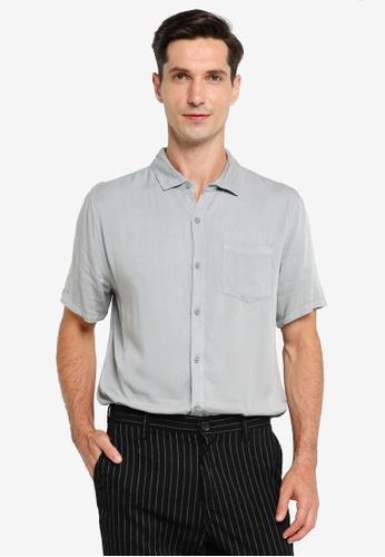 Cotton On blue Cuban Short Sleeve Shirt CA686AA2CE12E0GS_1
