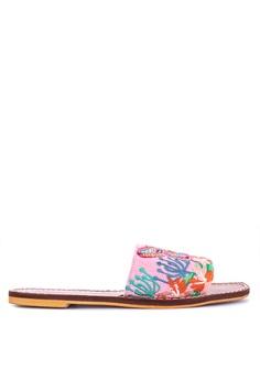 626f94fc3cf Manila Wear pink Zarah Juan Summer Norte Butterfly Woven Embroidered Sandals  9ED37SH2DD7767GS 1