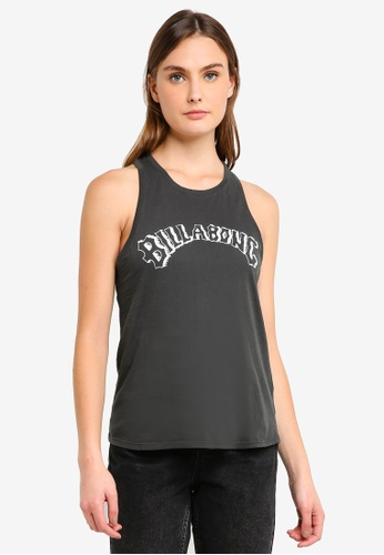 Billabong black Whiplash Heritage Sleeveless Top E15F1AA93C70D0GS_1