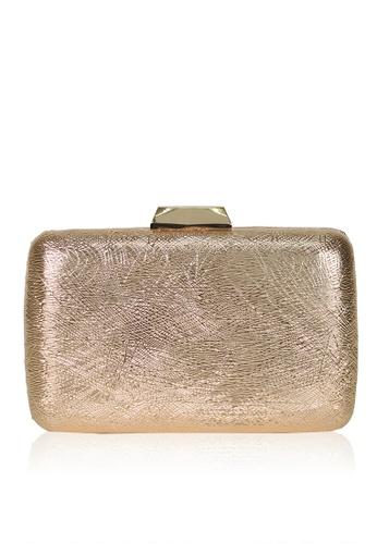 Dazz gold Swirl Evening Clutch - Gold DA408AC0S5SZMY_1