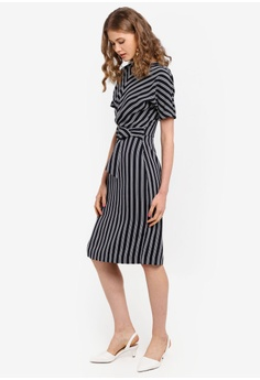 a399cbc9185 60% OFF WAREHOUSE Stripe Dress S  129.00 NOW S  51.90 Sizes 8