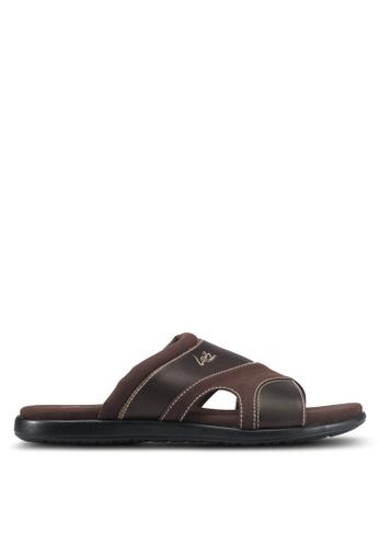 Louis Cuppers brown Casual Sandals E6548SH8C1E0E4GS_1