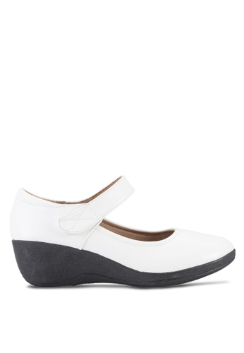 Louis Cuppers white Wedge Pumps LO977SH27BEAMY_1
