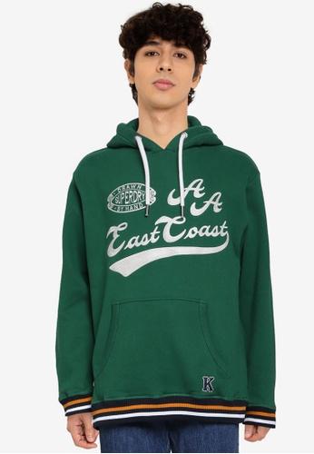Superdry 綠色 Collegiate Hoodie - Original & Vintage 92734AAD0C5359GS_1