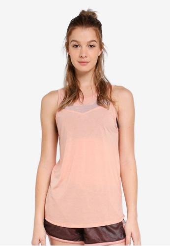 Cotton On Body pink Mesh Panel Tank Top 08174AA34C45DEGS_1