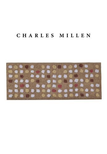 Charles Millen brown SET OF 2 Charles Millen BR-461 ( L )  Polka Dot Tufted Mat/ Bath Mat Mat 50 x 120cm 1.028kg 91BB2HL9A02D8EGS_1