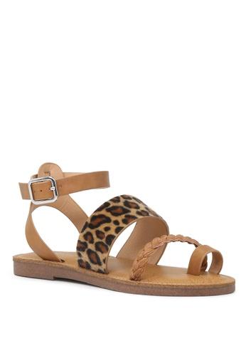 a7201cc5d2f1 Buy London Rag Florence Ankle Strap Flat Sandals Online on ZALORA Singapore