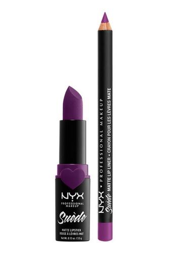 NYX Professional Makeup purple NYX Professional Makeup Lippie Duo STFU 07546BE3FDF657GS_1