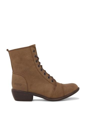 ROC Boots Australia brown Territory Brown Ankle Boot RO289SH18BQZSG_1
