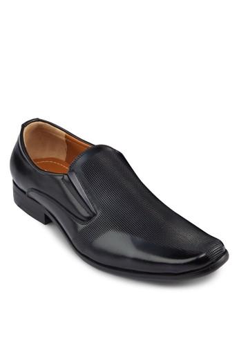 壓紋方頭皮鞋, 鞋,esprit sg 鞋
