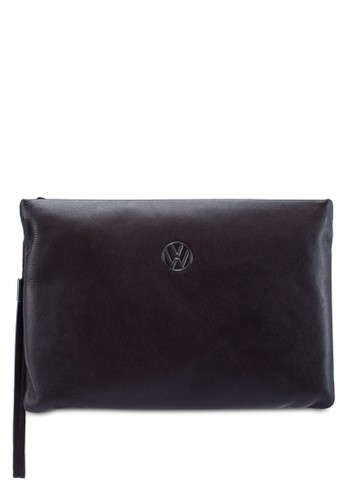Volkswagen brown Genuine Leather Clutch Bag 6D5A4AC10A88C6GS_1