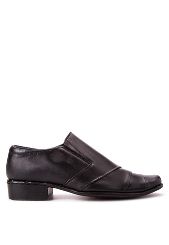 Brogue & Derby black Dallas Formal Shoes BR611SH45PUKPH_1