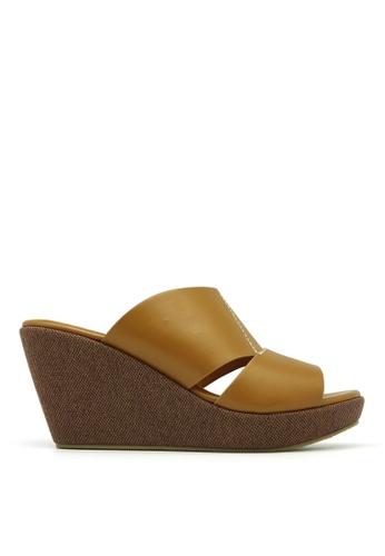 Carlo Rino brown Carlo Rino 333000-244-05 Sandal Wedges Platform (Brown) C1767SH6B5F22AGS_1