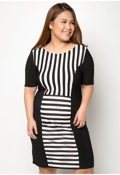 Dorothy Short Sleeved Plus Size Dress