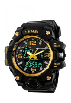 30M Multifunction Sports Dual Time Watch