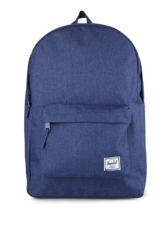 Herschel navy Classic Backpack HE449AC0UDOHID_1