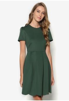 Collection Scalloped Hem Dress