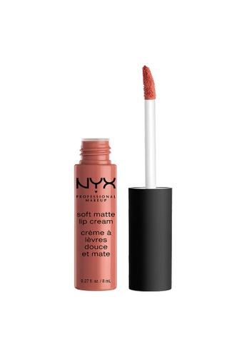 NYX Professional Makeup pink NYX Professional Makeup Soft Matte Lip Cream - CANNES E20D6BECCF0F01GS_1