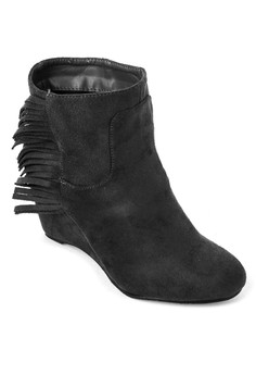 Suede Ankle Length Boots
