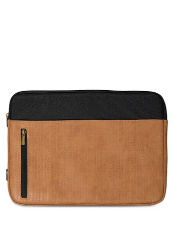 Typo brown Take Charge 15 Inch Laptop Cover 8F618AC50A17A7GS_1