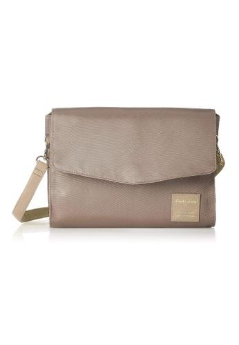Anello grey [Legato Largo] Simple Nylon Water-Repellent Shoulder Bag-LT-F1132 GREY CA01BAC87E76ABGS_1