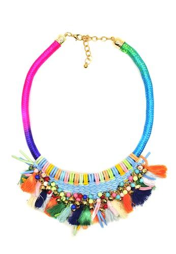 Istana Accessories blue Kalung Diandra Fashion Neklace D8C54AC33D793DGS_1