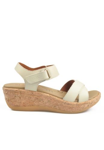 Beajove white Beth Wedges Sandals BE707SH68IYXID_1