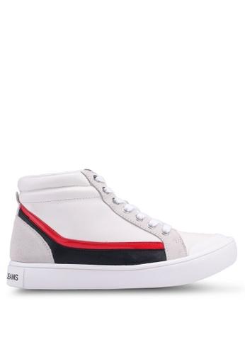 Calvin Klein white Dione Sneakers 64136SH4C50E0DGS_1