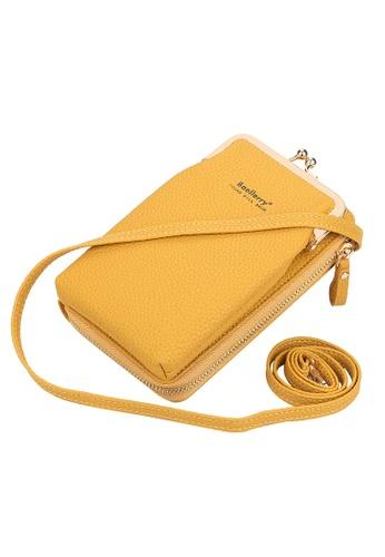 Baellerry yellow Yellow Bolsas Ladies Purse Zipper Bag EB33CACD1A0431GS_1