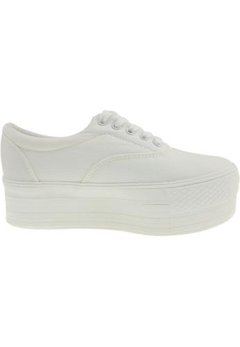 Maxstar white Maxstar Women's C50 5 Holes Platform PU Low Top Sneakers US Women Size MA164SH66PRTSG_1