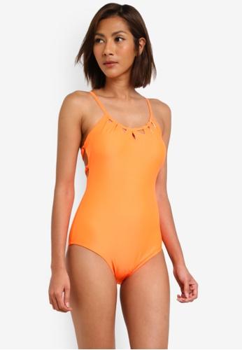 SunThing Cool orange Adya Orange Keyhole Monokini SU709US0SCSCMY_1