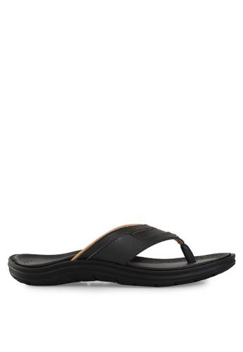 Homyped black Santana 01 Men Sandals HO842SH21PWOID_1