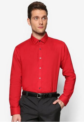 基本款長袖襯衫, esprit outlet 台中服飾, 襯衫