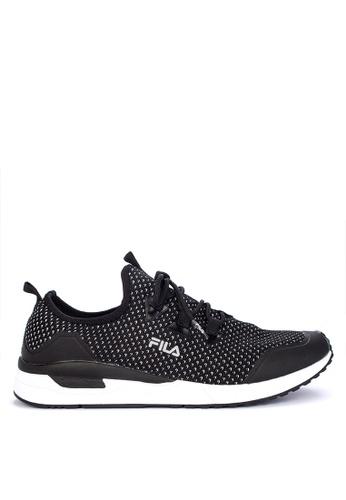 Fila black Persevere Running Shoes 7678ASHB4F7073GS_1
