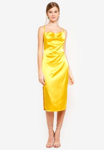 Shop MISSGUIDED Satin Midi Dress Online on ZALORA Philippines 092c69252