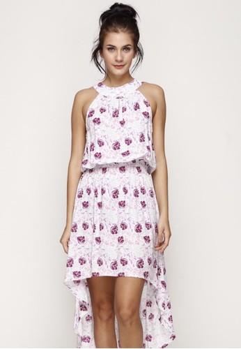 Just Jo Design multi Carerra Dress Floral 45CC1AAE800BA0GS_1