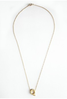 Q Stainless Letter Necklace