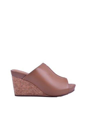 Hush Puppies brown Hush Puppies Ellyn In Camel B464ESHC85F059GS_1