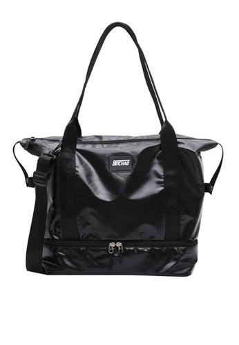 Twenty Eight Shoes black VANSA Simple Oxford Travel Tote Bag VBW-Tb9B32S 562A7ACECE0BC1GS_1
