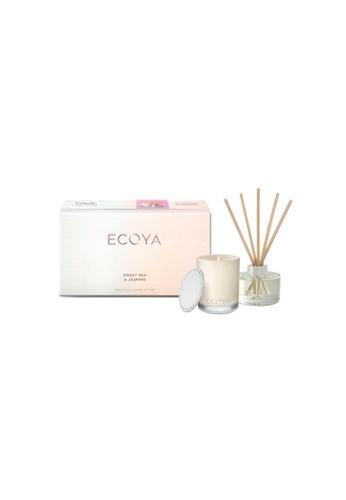Ecoya Ecoya Little Luxuries Gift Set Sweet Pea & Jasmine 0C5E0HL9E7A0BBGS_1