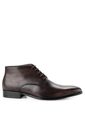 Obermain brown Obermain Ace Logan - Boots In Dark Brown 97FCESH2FC0519GS_1