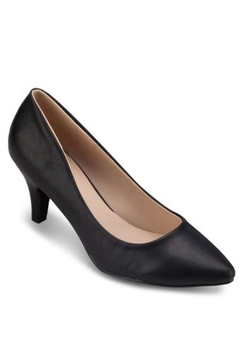 Luesprit 台中cy 尖頭高跟鞋, 女鞋, 厚底高跟鞋