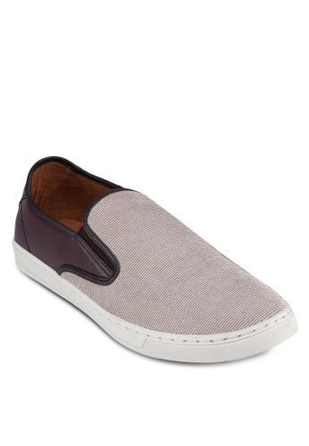異zalora 折扣碼材質拼接懶人鞋, 鞋, 懶人鞋