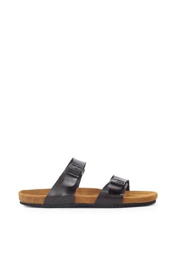 Navara brown Abel Brown EVA Sandals 1A29CSH6351337GS_1