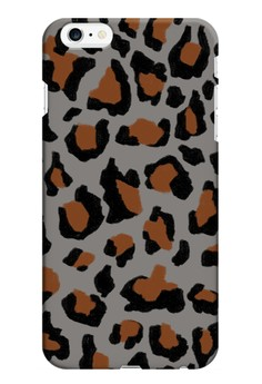 Funky Cheetah Print F Glossy Hard Case for iPhone 6 Plus