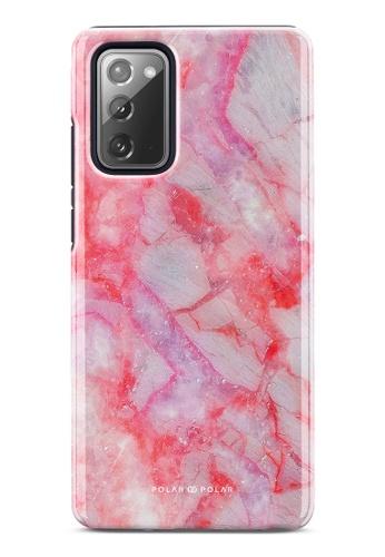 Polar Polar pink Gloaming Island Dual-Layer Tough Case Glossy For Samsung Galaxy Note20 5G EC7A2AC5D07857GS_1