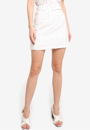 ZALORA WORK multi Tweed Mini Skirt 8D3F5AAA346105GS_1