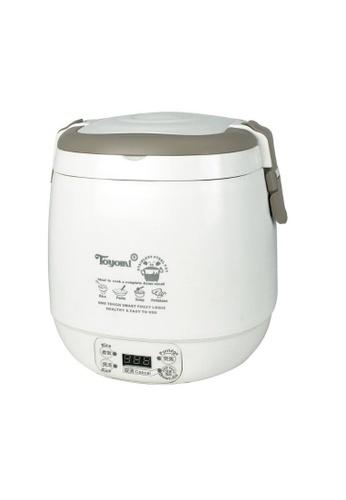 Toyomi Toyomi RICE COOKER DUO POT 0.6L - RC 818 61067HL4679AECGS_1