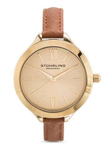Stuhrlinesprit outlet 家樂福g Original 975.03 Vogue 暗紋皮革細帶女錶, 錶類, 飾品配件